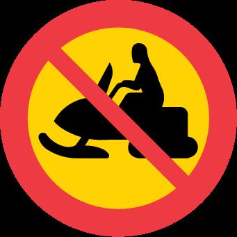 Förbud mot trafik med terrängmotorfordon och terrängsläp