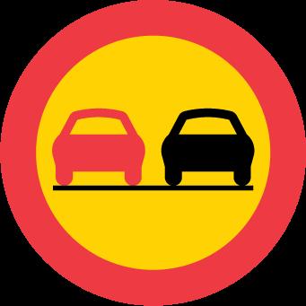 Förbud mot omkörning