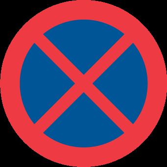 Förbud mot att stanna och parkera fordon
